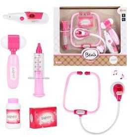 Toi-Toys Doktersset Roze + Accessoires + Gratis Gift