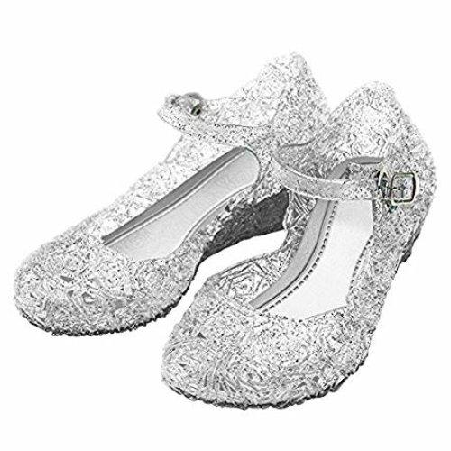 Elsa Prinsessenset - Rok - Toverstaf - Kroon - Juwelen - Handschoenen - one size