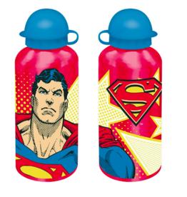 Superman Superman Bidon - aluminium - waterfles - 500 ml