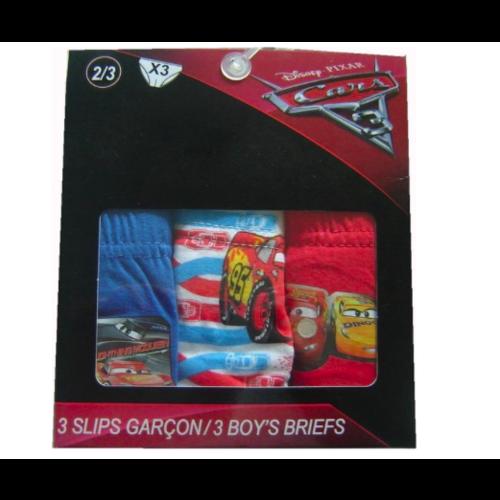 Cars Cars ondergoed 3 pack 116/128