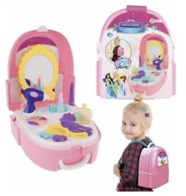 Toi-Toys Toi-toys Beautyset In Rugzak 19-delig + Toverstaf / Kroon