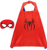 Spiderman rode cape + masker
