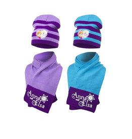 Disney Frozen Elsa/Anna winterset - sjaal + muts maat 51/54