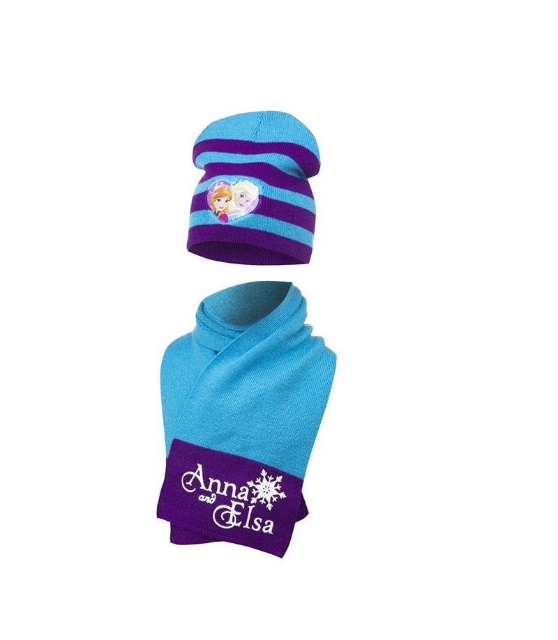 Disney Disney Frozen Elsa/Anna sjaal + muts - maat 51/54