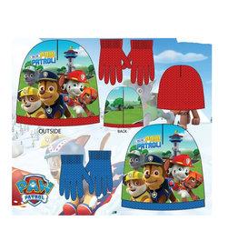 Paw Patrol Paw Patrol winterset - muts + handschoenen - giftset