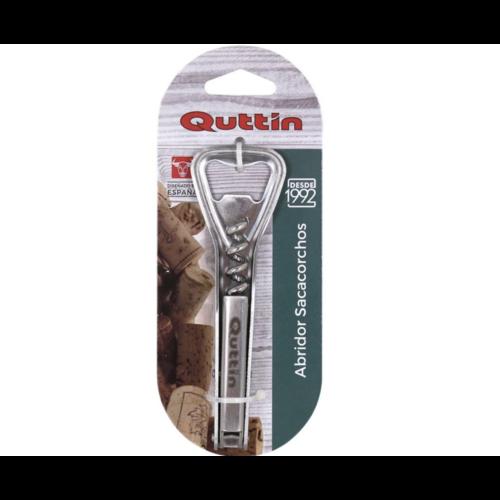 Quttin Quttin - kurkentrekken - openener - bieropener - wijnopener - 2 in 1 - combi opener