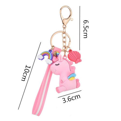 Het Betere Merk Unicorn Jurk - Eenhoorn Jurk - Gratis haarband  -  Verkleedkleding  | Roze maat 98/104, 110, 116/122, 128/134, 140
