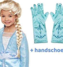 Frozen 2 Elsa Pruik + GRATIS 1 paar handschoenen