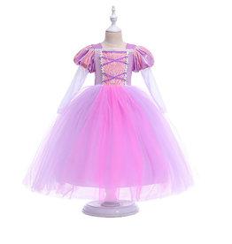 Het Betere Merk Rapunzel paars/roze jurk Deluxe