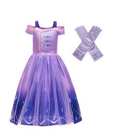 Het Betere Merk Frozen 2 Elsa Jurk - Prinsessenjurk Meisje - Gratis Handschoenen