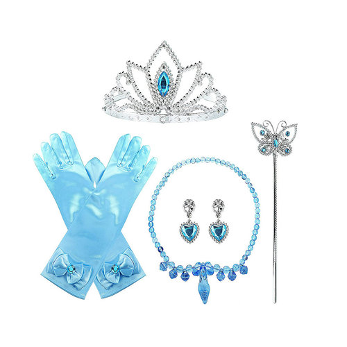 Cinderella Prinsessen blauw accessoireset