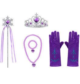 Rapunzel Prinsessen paars accessoireset
