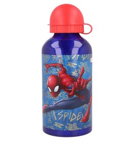 Spiderman aluminium drinkfles