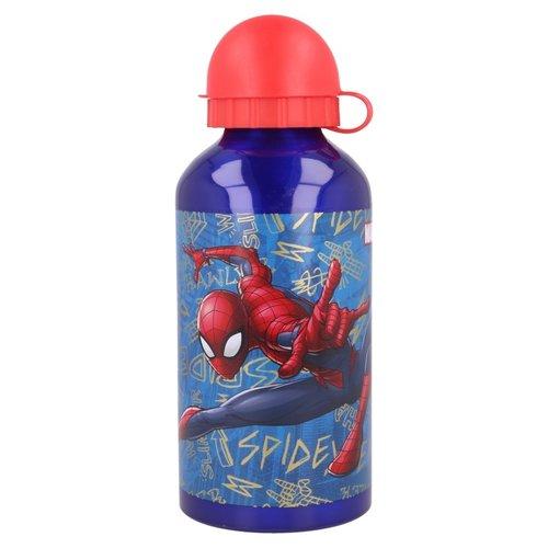 Spiderman aluminium drinkfles