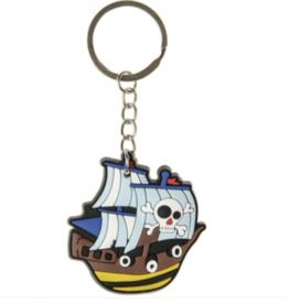 8 x sleutelhanger piratenboot - uitdeelcadeautjes - verjaardag