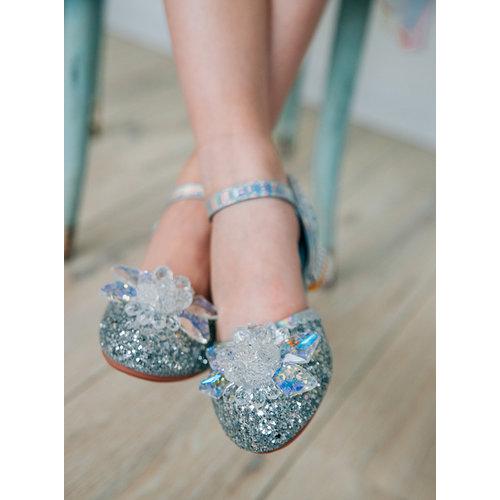 Het Betere Merk Elsa / Anna schoenen - Prinsessen schoenen - Verkleedschoenen   Blauw + Toverstaf + Kroon maat 26, 27, 28, 29, 30, 31, 32, 33, 34, 35