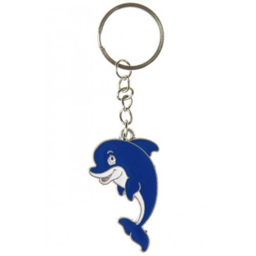 6 x sleutelhanger dolfijn - uitdeelcadeautjes - verjaardag