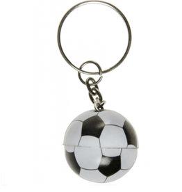 8 x sleutelhanger voetbal - uitdeelcadeautjes - verjaardag