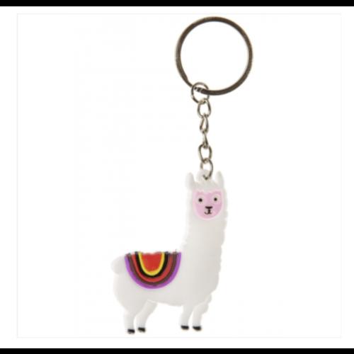 8 x sleutelhanger Alpaca - uitdeelcadeautjes - verjaardag