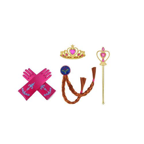 ANNA Frozen 4-delig accessoires set