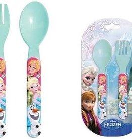 Disney Frozen bestek - lepel - vork