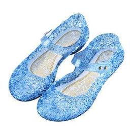 Het Betere Merk Prinsessenschoenen - Verkleedschoenen - Blauw