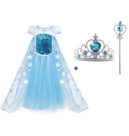 Het Betere Merk Frozen Elsa luxe jurk