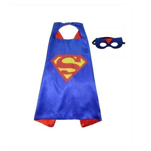 Superhelden Verkleedpak - 4 Pack - Superman/ Batman/Spiderman cape + masker