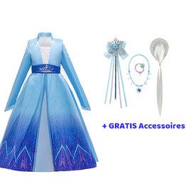 Het Betere Merk Elsa Jurk - Prinsessenjurk Meisje - Frozen 2 Jurk