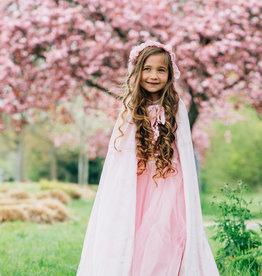 Het Betere Merk Frozen Elsa Deluxe roze verkleedjurk + Staf + Kroon