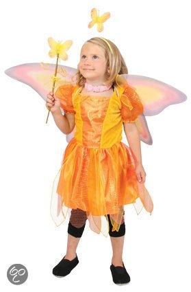 Vlinder verkleedjurk maat 104