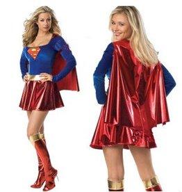 Supervrouw kostuum