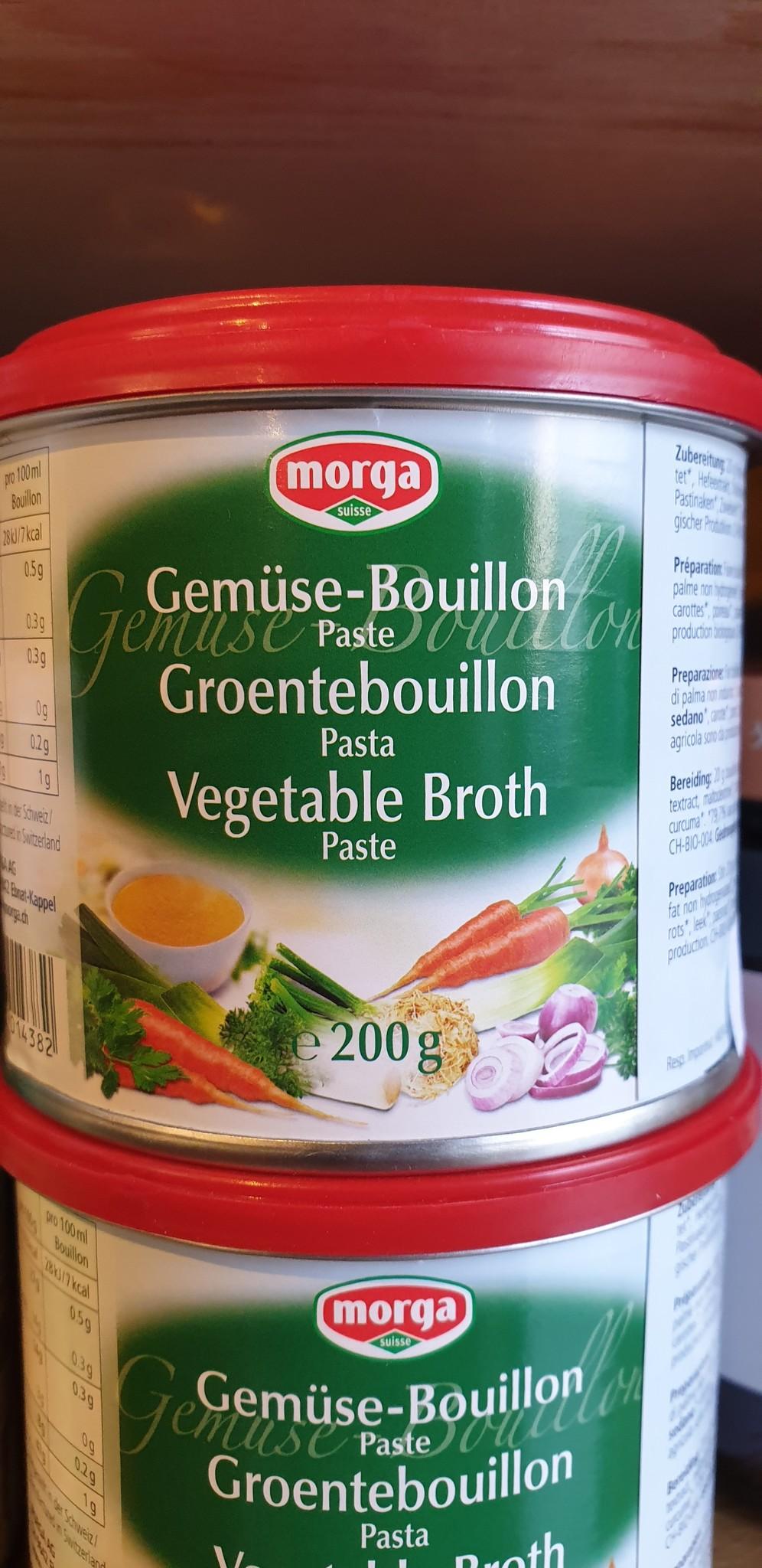 Morga Gemüse-Bouillon Paste bio 200g Morga
