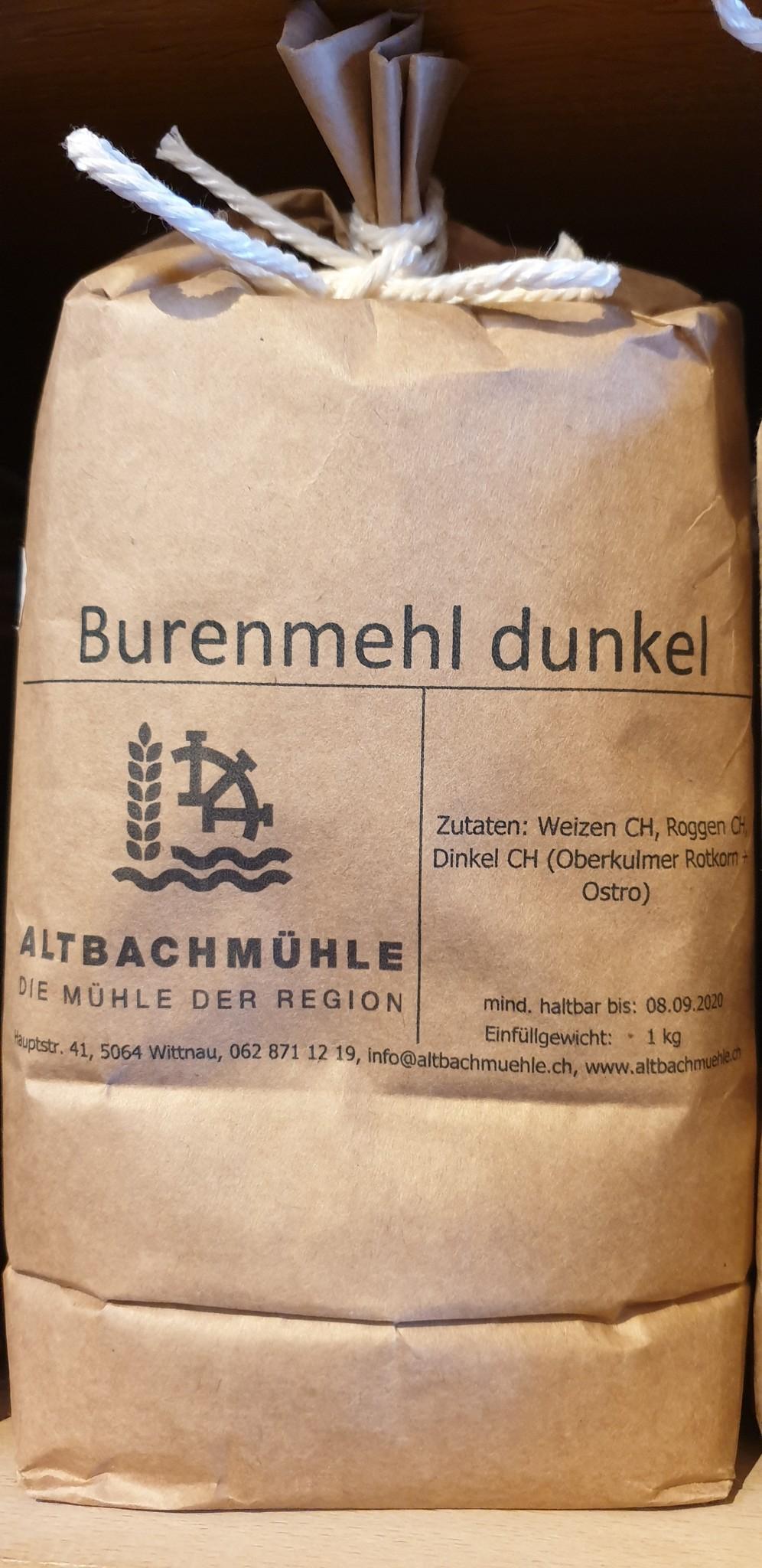 Altbachmühle Burenmehl dunkel 1kg Altbachmühle
