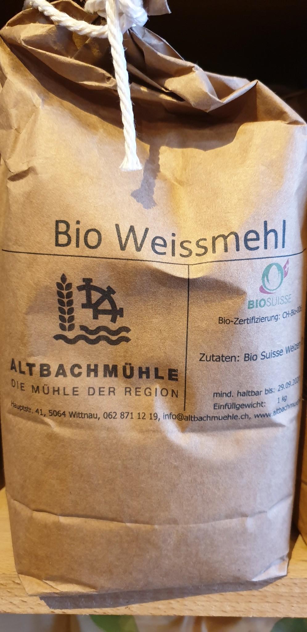 Altbachmühle Weissmehl bio 1kg Altbachmühle