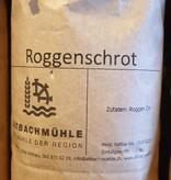 Altbachmühle Roggenschrot 1kg Altbachmühle