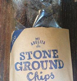 Mi Adelita Chips Stone Ground Blue bio