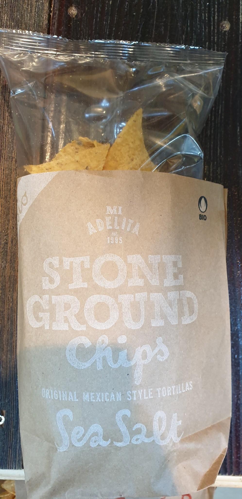 Mi Adelita Chips Stone Ground Sea Salt bio Mi Adelita
