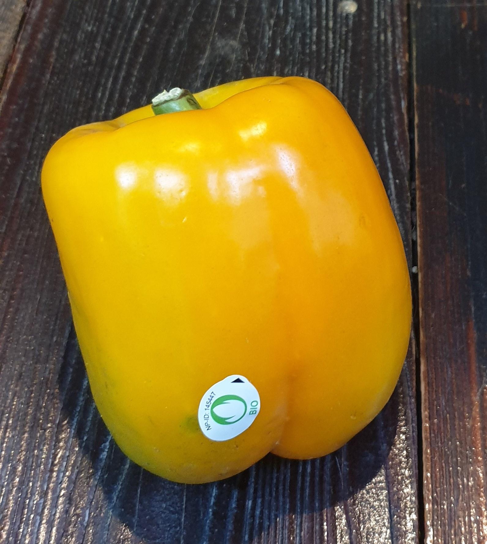 Peperoni gelb bio (ES)