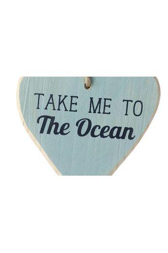 Heaven Sends Heaven Sends-Take Me To The Ocean Hanging Heart