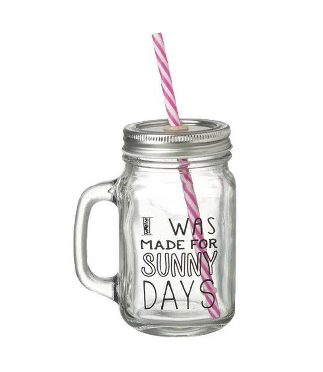Heaven Sends Sunny Days Jar Drinking Bottle