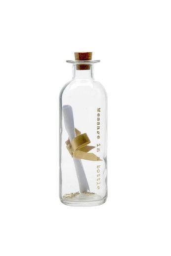 Heaven Sends Message in a Glass Bottle