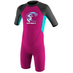 O'Neill Wetsuits Girls Toddler Reactor Spring