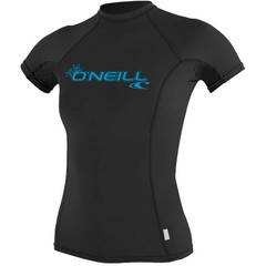 O'Neill Wetsuits Womens Basic Skins Crew S/S