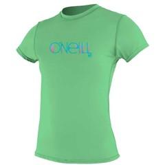 O'Neill Wetsuits Womens Rash Tee S/S Mint