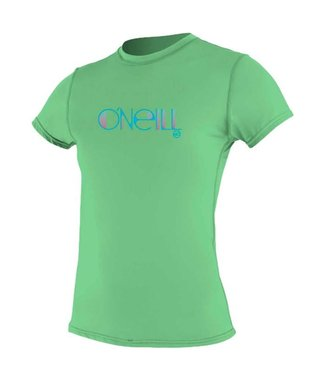 O'Neill Wetsuits Womens Rash Tee S/S Mint