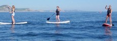 Stand Up Paddle Lessons in Lyme Regis