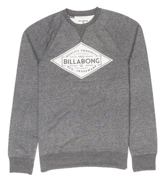 Billabong Bogus Crew Jumper Dark Grey Heather