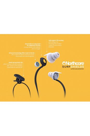 Northcore Northcore Surfshields Surfers Ear Plugs