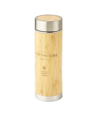 Northcore Northcore Bamboo Stainless Thermos Flask